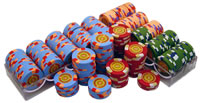300 InPlay Clay Poker Chips