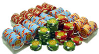 400 InPlay Clay Poker Chips