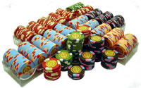 500 InPlay Clay Poker Chips
