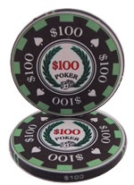 $100 Archetype Casino Chip