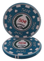 50 Cent Archetype Casino Chip