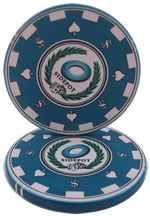 Blue Archetype Casino Chip