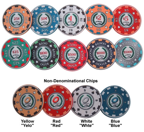 Archetype Poker Chip Line