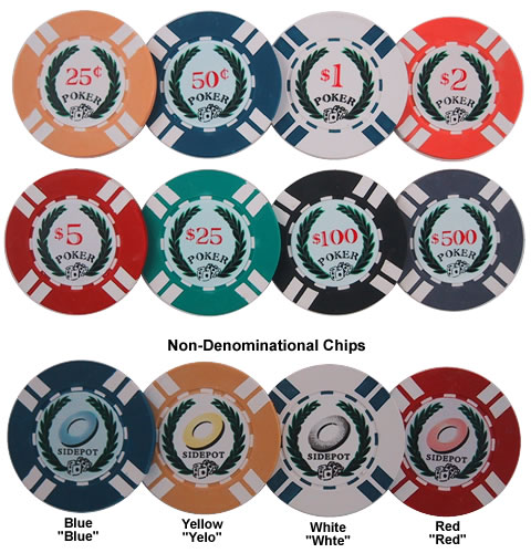 Neophyte Poker Chips
