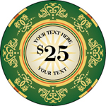 Personalized Poker Chip Design Ideas
