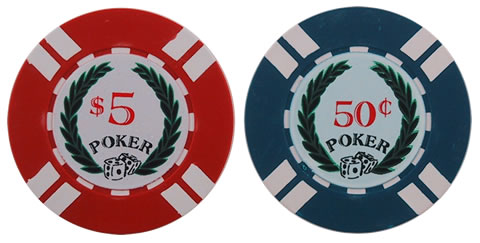2 Neophyte Poker Chip Sample