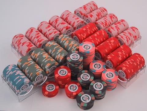 500 modern clay poker chip set - Poker Chips Set