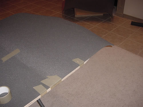 Foam padding for poker tables