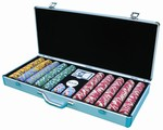 650-Chip Aluminum Poker Chip Case