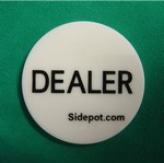 Free Texas Hold'em Dealer Button