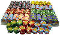 1000 InPlay Clay Poker Chips