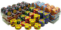 600 InPlay Clay Poker Chips