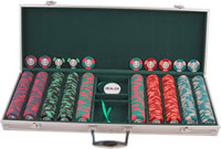 500 Chip Aluminum Poker Chip Case