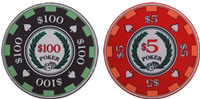 2 Archetype Casino Chip Sample