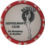 Gentlemen's Club Poker Chips