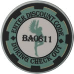 Coupon Poker Chips