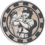 Tradeshow Poker Chip