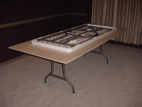Folding Poker Table Base