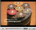 Poker Chip Video for Archetype Casino Chips